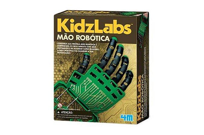 Mão Robótica - Brinquedo Educativo