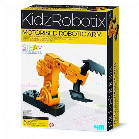 Braço Robótico Motorizado- Brinquedo Educativo