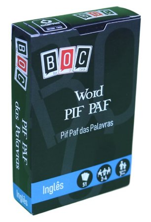 Word PIF PAF - Pif Paf das Palavras