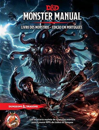 Dungeons & Dragons - O Livro dos Monstros - Grátis 4 Tokens de Inspiração em 3D