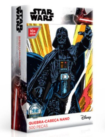 Star Wars - Darth Vader - Quebra-Cabeças Nano 500 Peças