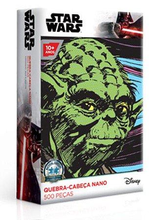 Star Wars - Yoda - Quebra-Cabeças Nano 500 Peças