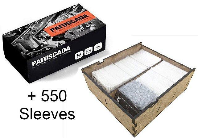 Patuscada + Insert (Caixa Organizadora) + 550 Sleeves