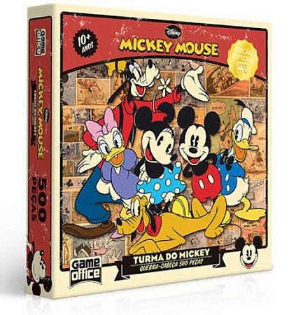 Quebra-Cabeça A Turma do Mickey - 500 Peças