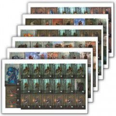 Kit com 126 Personagens de RPG - Modelo 1 + 36 Stands