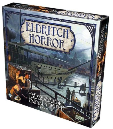 Eldritch Horror - Máscaras de Nyarlathotep (Expansão)