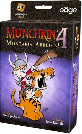 Munchkin 4 Montaria Arredia! - Expansão