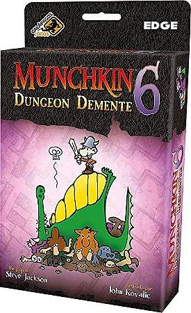 Munchkin 6 Dungeon Demente - Expansão