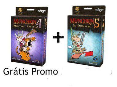 Combo Munchkin 4 e Munchkin 5 - Grátis Promo Mestre de Dungeon