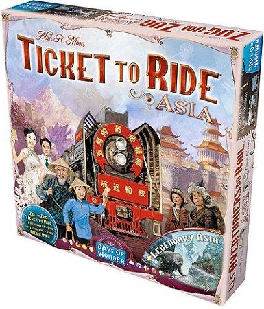 Ticket to Ride Asia - Expansão