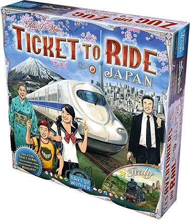 Ticket to Ride Japão e Itália - Expansão