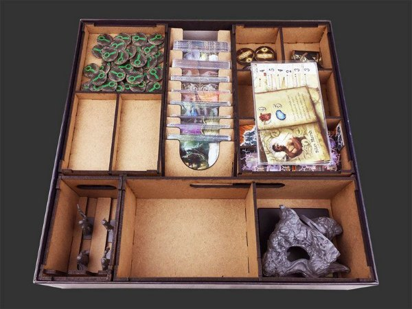 Organizador (insert) para Mansions of Madness - Jornadas Macabras