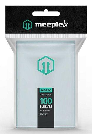 Sleeves MeepleBR Padrão 63,5 x 88 mm