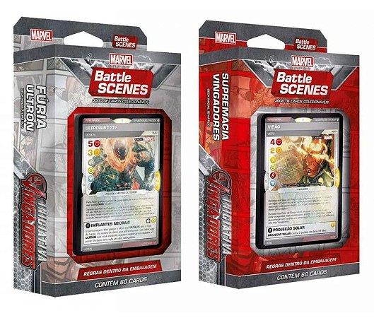 2 Decks Marvel Battle Scenes - Iniciativa Vingadores