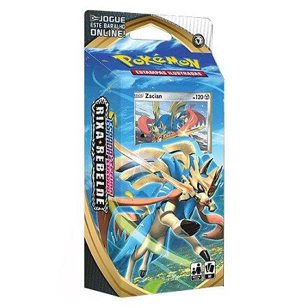 Pokemon Espada e Escudo Rixa Rebelde - Zacian