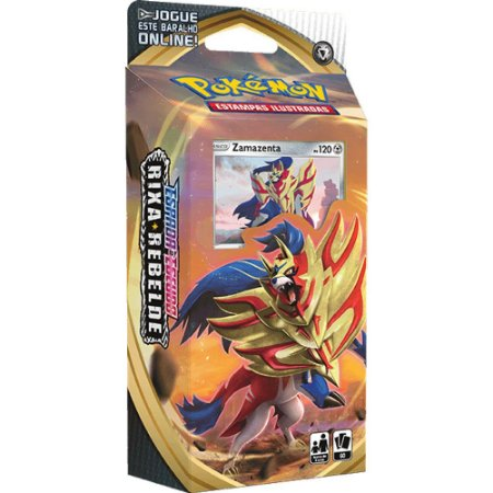 Pokemon Espada e Escudo Rixa Rebelde - Zamazenta