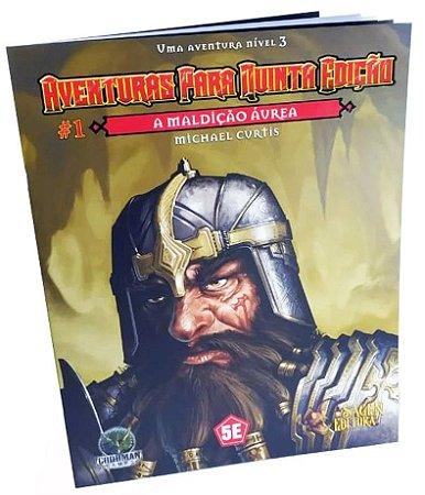 Dungeons & Dragons - Aventuras para Quinta Edição - A Maldição Áurea