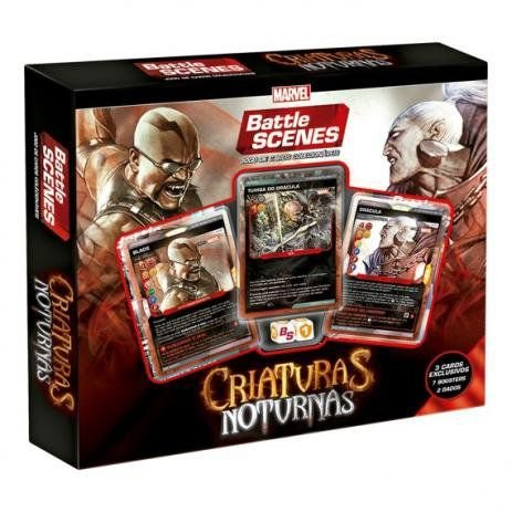 Marvel Battle Scenes - Criaturas Noturnas