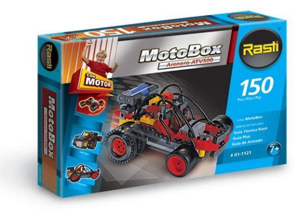 MotoBox - Buggy ATV500 com Motor