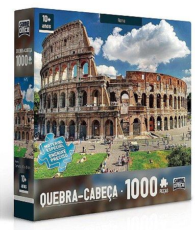 Quebra-cabeça 1000 peças - Roma