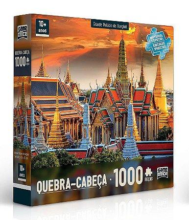 Quebra-cabeça 1000 peças - Grande Palácio de Bangkok