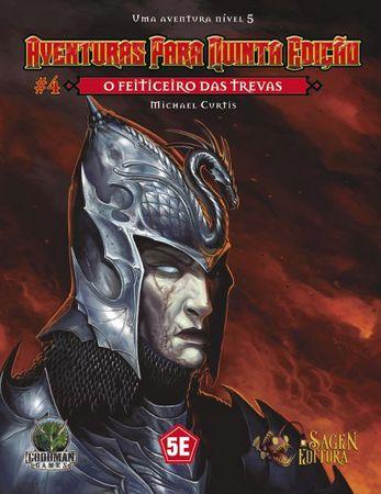 Dungeons & Dragons - Aventuras para Quinta Edição #4 O Feiticeiro das Trevas