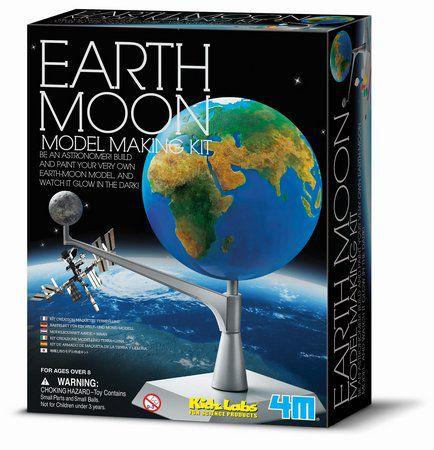Kit Modelo Terra-Lua - Earth Moon
