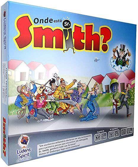 Onde esta Sr. Smith ?
