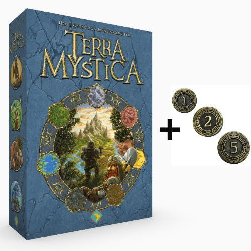 Terra Mystica + Moedas de Metal (Pré-venda)