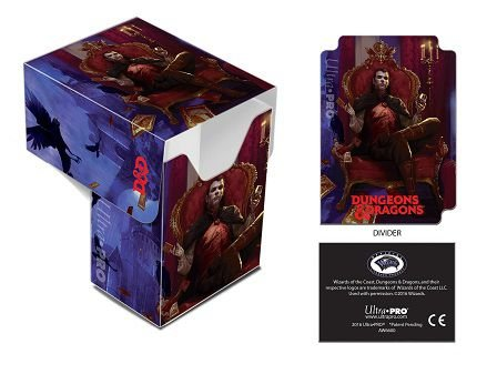 Dungeons & Dragons - Count Strahd von Zarovich Full-View Deck Box