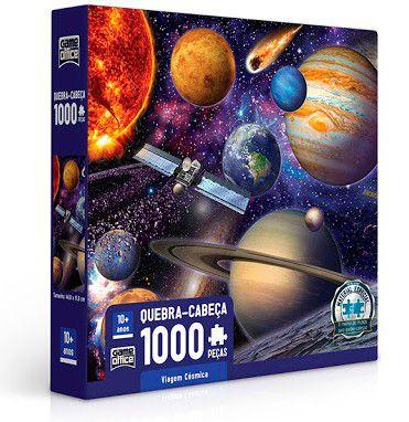 Viagem Cósmica - Quebra-cabeça 1000 peças
