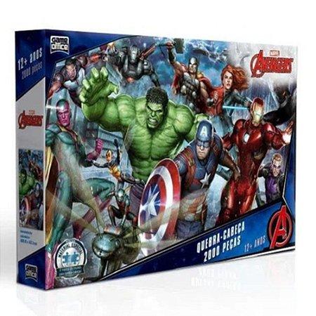 Quebra-Cabeça 2000 peças - Marvel Avengers