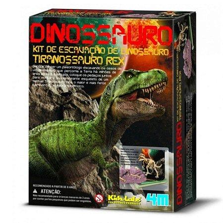 Kit de Escavação - Tiranossauro Rex - Brinquedo Educativo