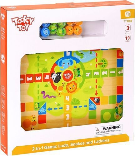 Jogo 2-in-1. Ludo, Snakes and Ladders
