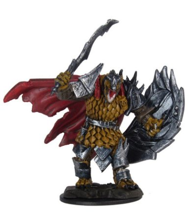Dragonborn Fighter - D&D - Icons of the Realms - Miniatura Premium