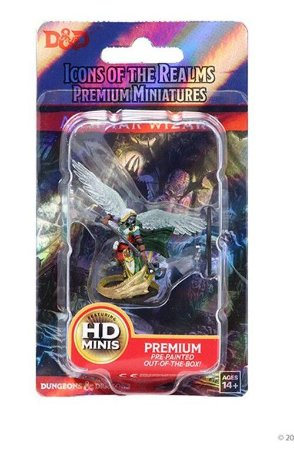 Aasimar Female Wizard - D&D - Icons of the Realms - Miniatura Premium