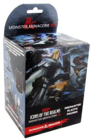 Monster Menagerie III - D&D - Icons of the Realms - Booster Box Heróis e Monstros