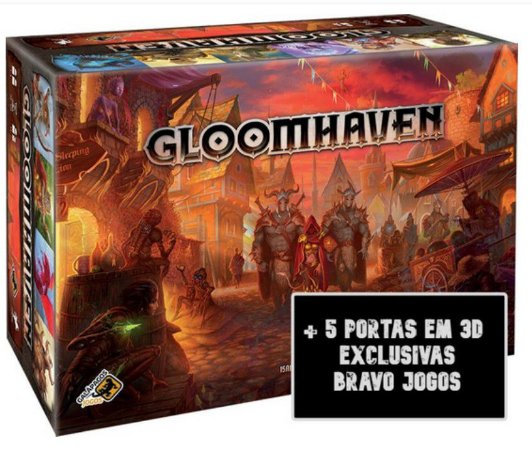 Gloomhaven + 5 Portas Exclusivas