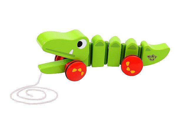 Crocodilo de puxar