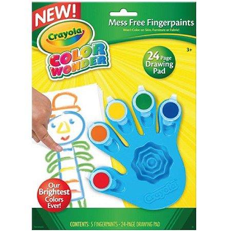 Color Wonder Pintura a Dedo 5 Cores