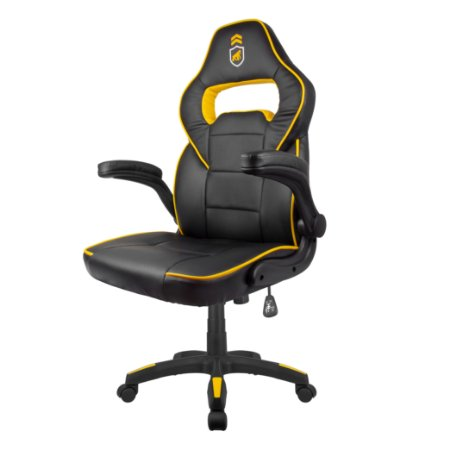 Cadeira Gamer Phantom Slim Preta com Amarelo - Gshield