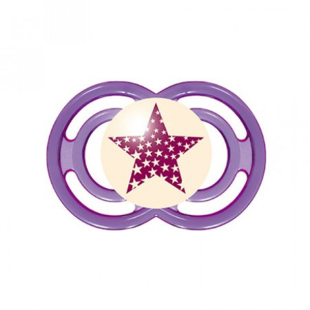 Chupeta MAM Perfect Night Roxa Estrela 6+ meses