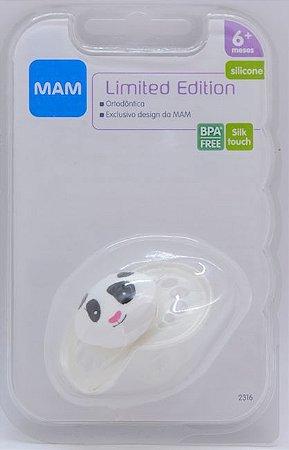 Chupeta MAM Limited Edition Branca Panda 6+ meses