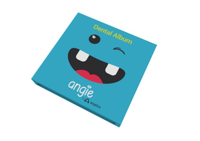 Álbum Angie Dental Album Azul