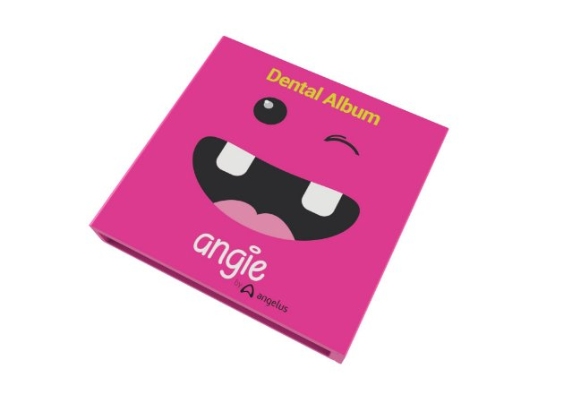 Álbum Angie Dental Album Rosa