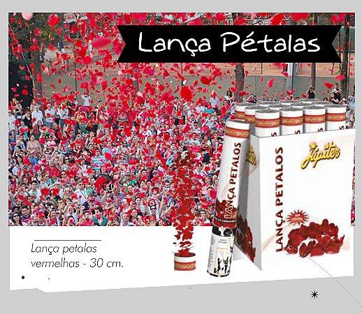 Lança Pétalas de Papel Vermelhas 30cm