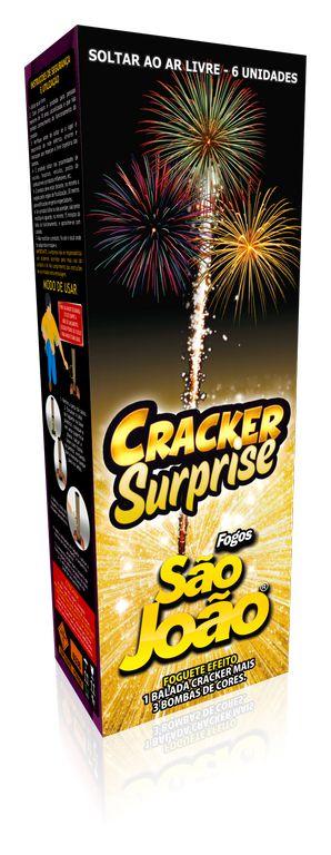 Foguete de Cor Cracker Surprise - São João