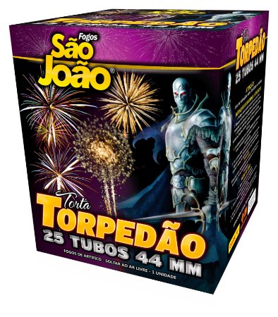 Torta Torpedão Mix - 25 Tubos São João