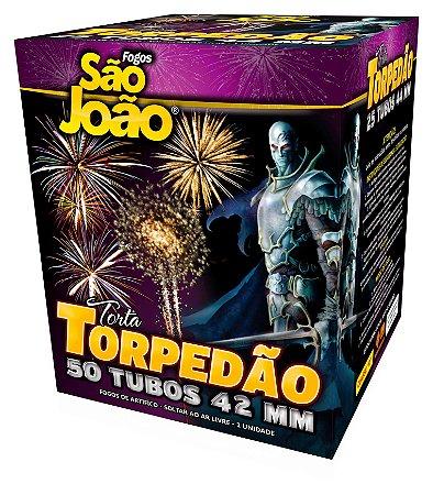 Torta Torpedão Mix - 50 Tubos São João