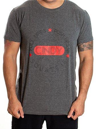 T-shirt Casal Wod - CINDY - Cinza